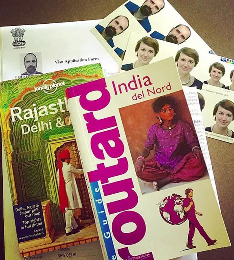 Preparandomi per l'india, cosa ho portato con me nel viaggio in India
